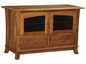 Hampton Two Drawer, Two Door Plasma Stand