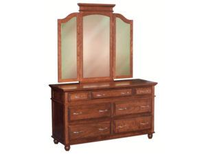 Kountry Treasure Dresser with Tri-View Mirror
