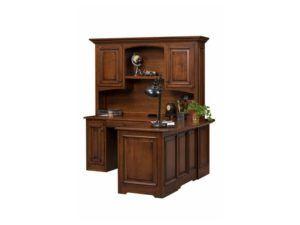 Liberty Classic Corner Desk and Hutch