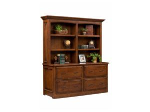 Liberty Classic Double Lateral File Cabinet with Hutch