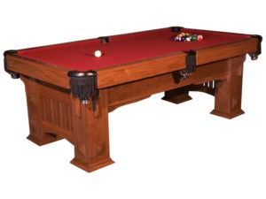 Landmark Mission Style Pool Table