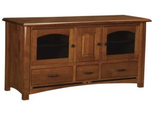Lavega Three Drawer, Three Door Plasma Stand