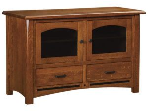 Lavega Two Drawer, Two Door Plasma Stand