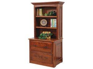 Liberty Classic Lateral File Cabinet with Hutch
