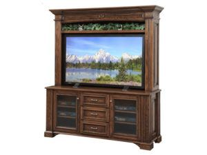 Lincoln 68 inch Plasma TV Stand with Hutch
