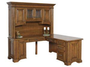 Lincoln Corner Desk with Hutch