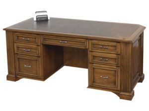 Lincoln Executive Wood Desk