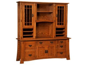 Modesto Hardwood Desk or Credenza Topper