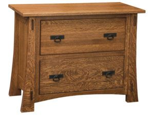 Modesto Hardwood Lateral File Cabinet