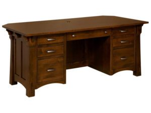 Manitoba Hardwood Executive Desk