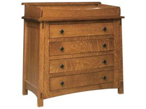 McCoy Four Drawer Changer Chest