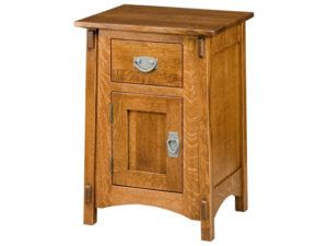 McCoy 1 Drawer, 1 Door Nightstand