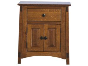 McCoy 1 Drawer, 2 Door Nightstand