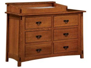 McCoy Six Drawer Changer Chest