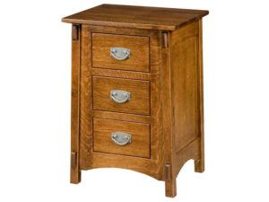 McCoy 3 Drawer Bedside Chest