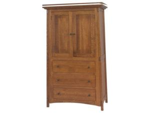 McCoy 3 Drawer, 2 Door Armoire