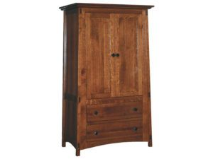 McCoy Two Drawer, Two Door Armoire