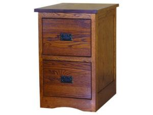 Mission Style File Cabinet