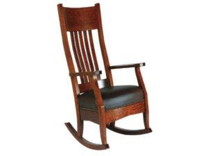 Mission Rocker with Footstool