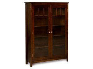 Mission Style Single Bookcase