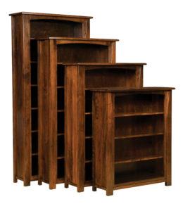 Modesto Hardwood Bookcases
