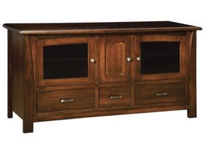 Mondovi Three Drawer, Three Door Plasma Stand