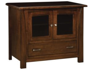 Mondovi One Drawer, Two Door Plasma Stand
