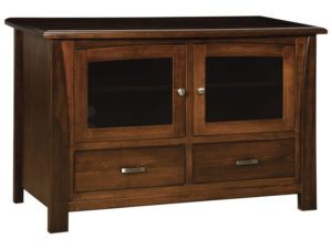 Mondovi Two Drawer, Two Door Plasma Stand
