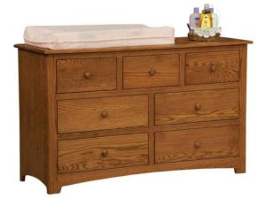 Monterey Seven Drawer Child's Dresser