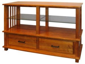 Solid Wood Mullan Mission TV Stand