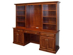 Naper Desk With Bookcase