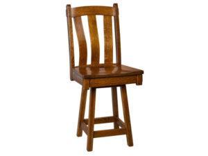 Olde Century Swivel Bar Chair