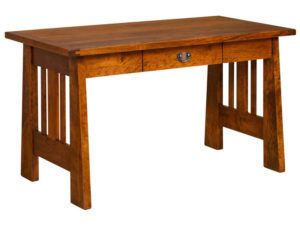 Freemont Open Mission Hardwood Pencil Desk