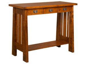 Freemont Open Mission Hardwood Writing Table