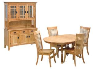 Carlisle Oval Table Set