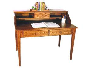 Paymaster Small Desk and Hutch