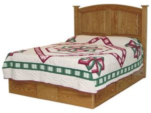Bow Panel Platform Bed