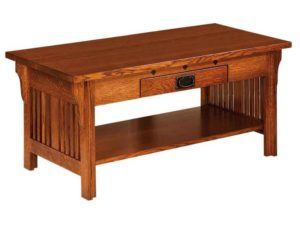 Straight Royal Mission Coffee Table