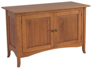 Shaker Hill Hardwood Two Door Credenza