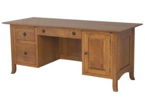 Shaker Hill Hardwood File Desk