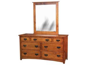 Shaker Seven Drawer Dresser