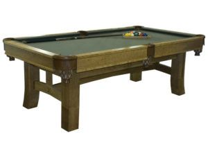 Shaker Style Pool Table