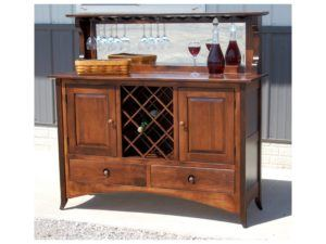 54 inch Shaker Hill Wine Buffet