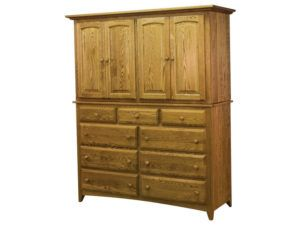 Shaker 9 Drawer Armoire