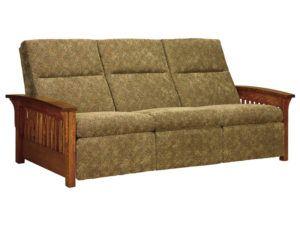 Skyline Slat Reclining Sofa