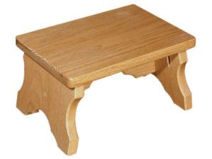 Small Solid-Oak Bench