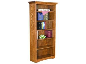Solid Side Style Bookcase