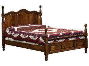 Squanto Scalloped Bed