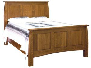 Superior Shaker Wood Bed
