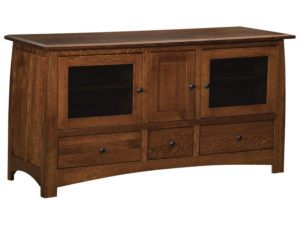Superior Shaker Three Drawer, Three Door Plasma Stand